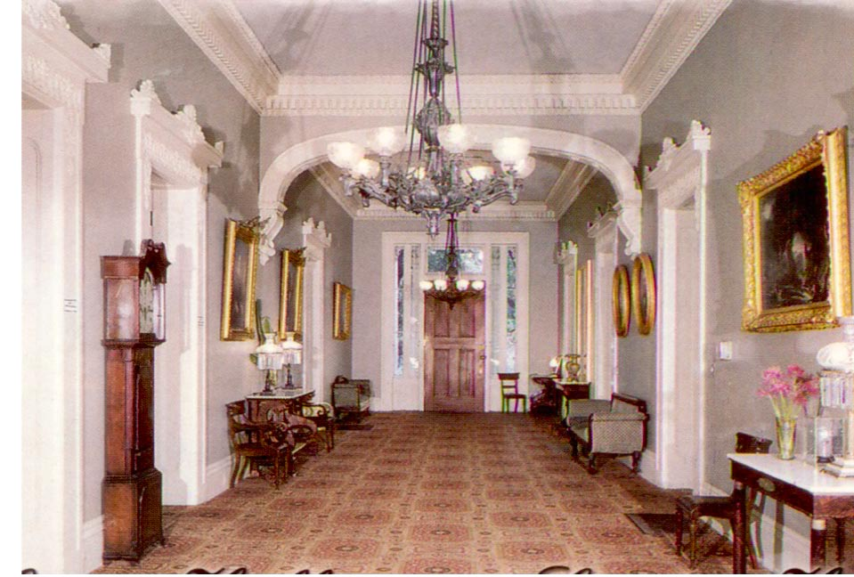 And The Antebellum Interior Stanton Hall And The Antebellum Interior