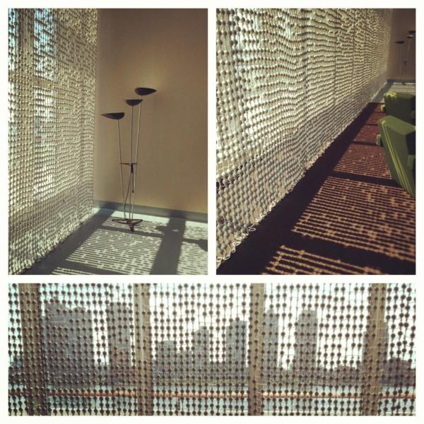 bead curtain composite